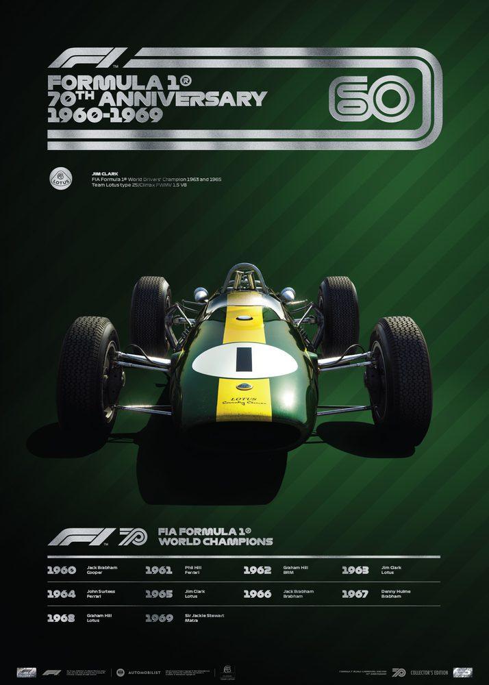 FORMULA 1® DECADES – 60s Team Lotus | Collector's Edition
