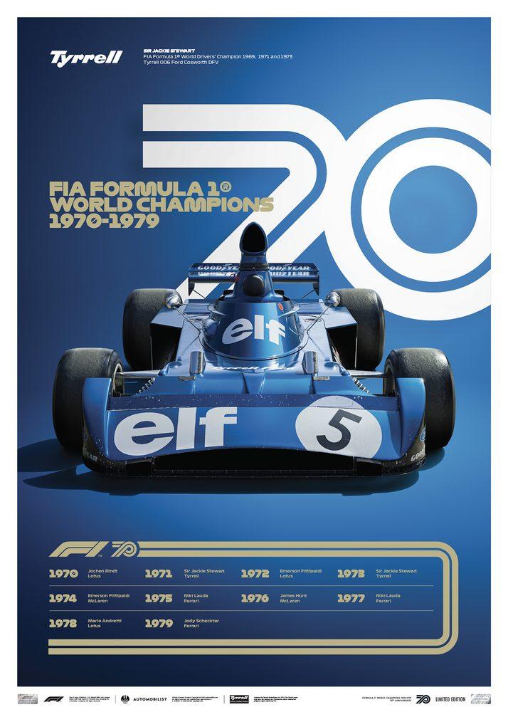 FORMULA 1® DECADES – 70s Tyrrell   Limited Edition