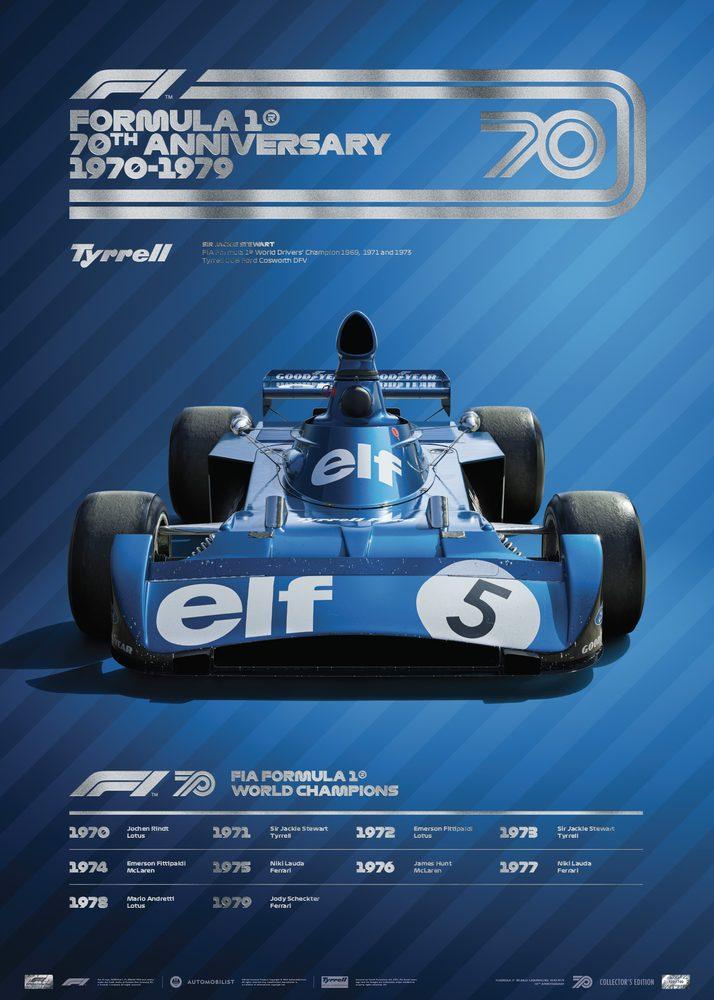 FORMULA 1® DECADES – 70s Tyrrell | Collector's Edition