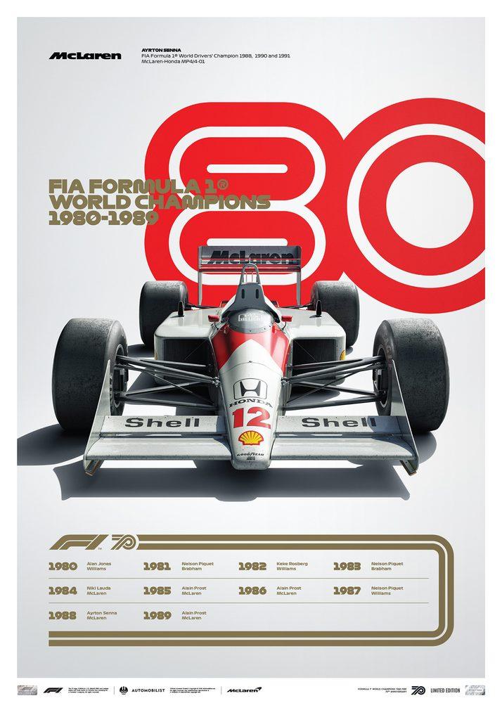 FORMULA 1® DECADES – 80s McLaren | Limited Edition