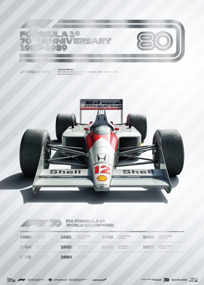 FORMULA 1® DECADES – 80s McLaren   Collector's Edition