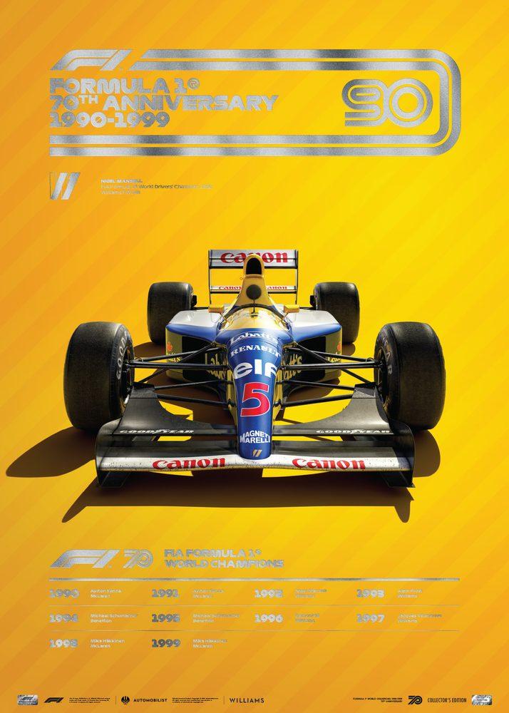 FORMULA 1® DECADES – 90s Williams | Collector's Edition