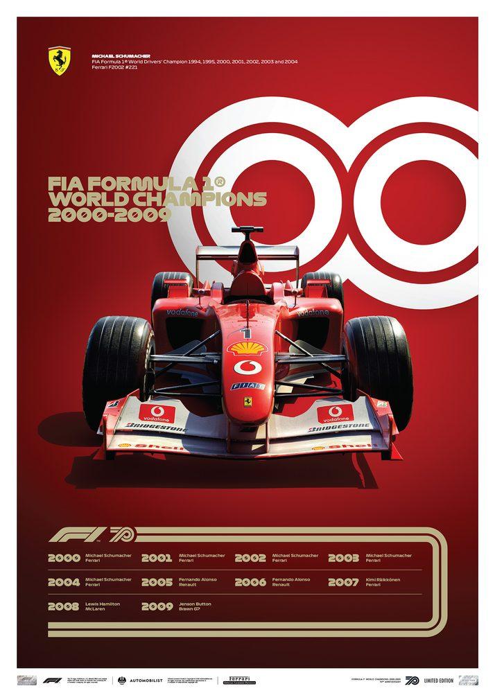 FORMULA 1® DECADES – 2000s Ferrari   Limited Edition