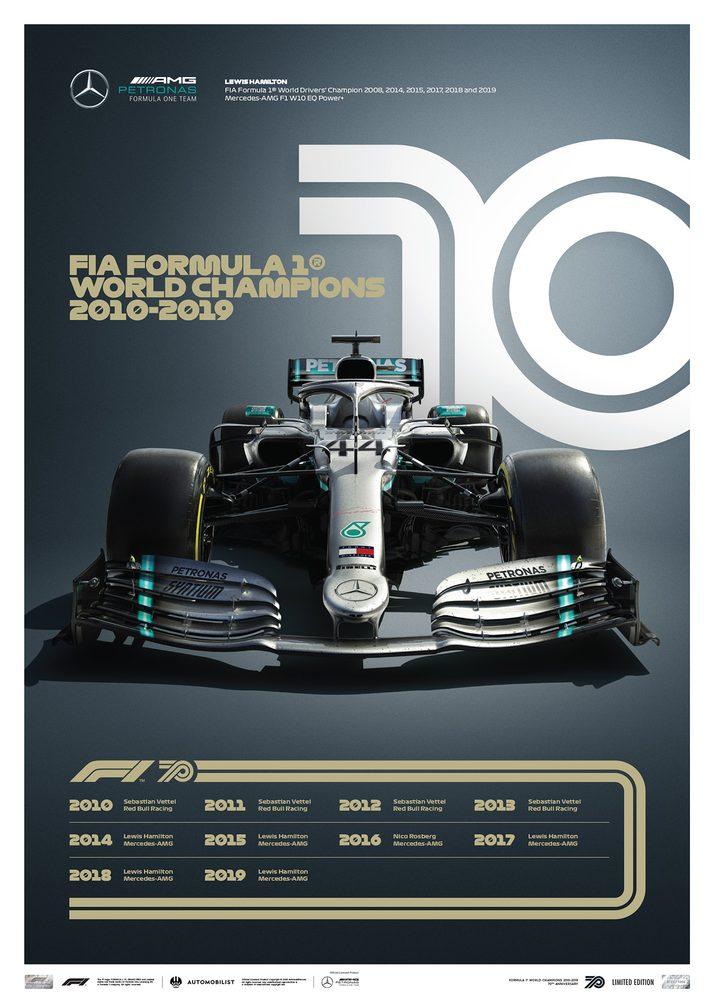 FORMULA 1® DECADES – 2010s Mercedes-AMG Petronas F1 Team | Limited Edition