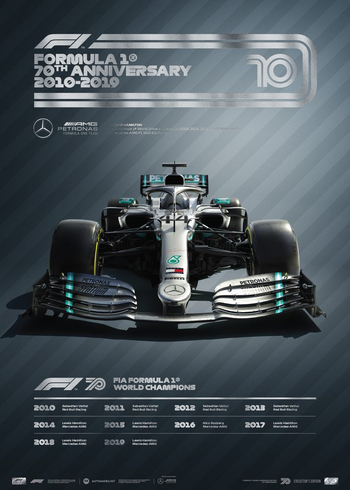 FORMULA 1® DECADES – 2010s Mercedes-AMG | Collector's Edition