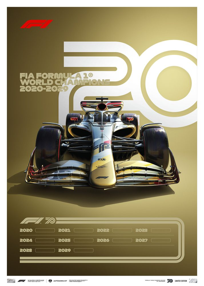 FORMULA 1® DECADES – 2020s THE FUTURE LIES AHEAD | LIMITED EDITION