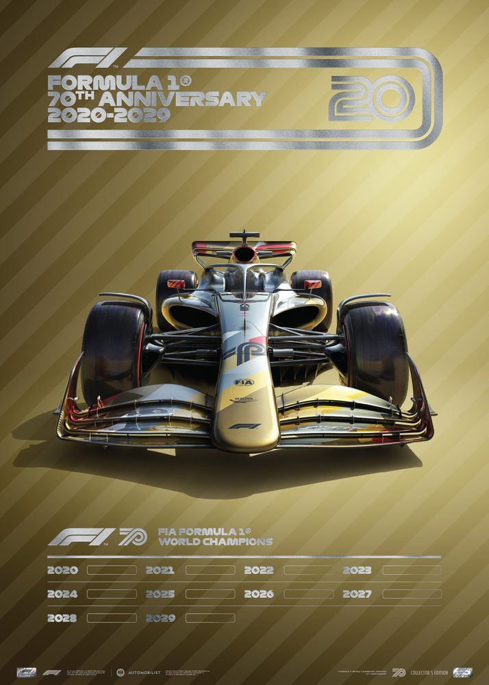 FORMULA 1® DECADES – 2020s THE FUTURE LIES AHEAD | COLLECTOR'S EDITION