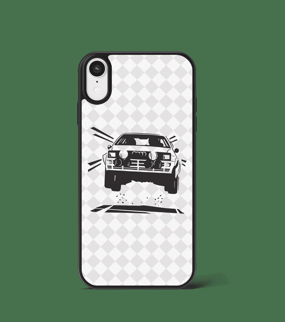 Etui GLASS na telefon z Audi Quattro 'Rally'