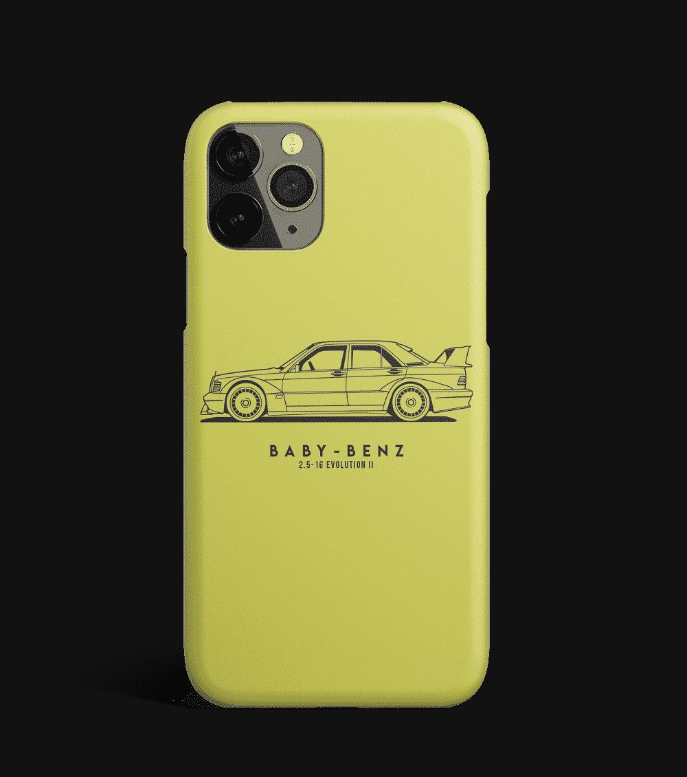 Etui na telefon z Mercedesem Baby-Benz