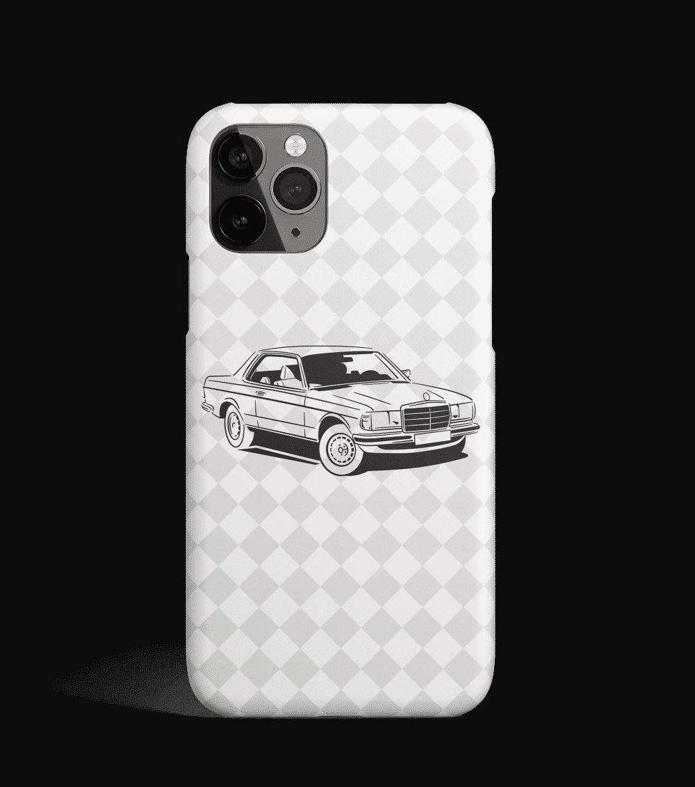 Etui na telefon z Mercedesem 123 Coupe