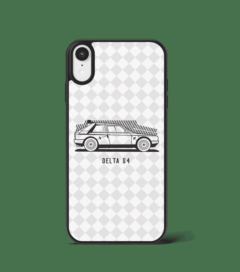 Case GLASS na telefon z Lancią Delta S4