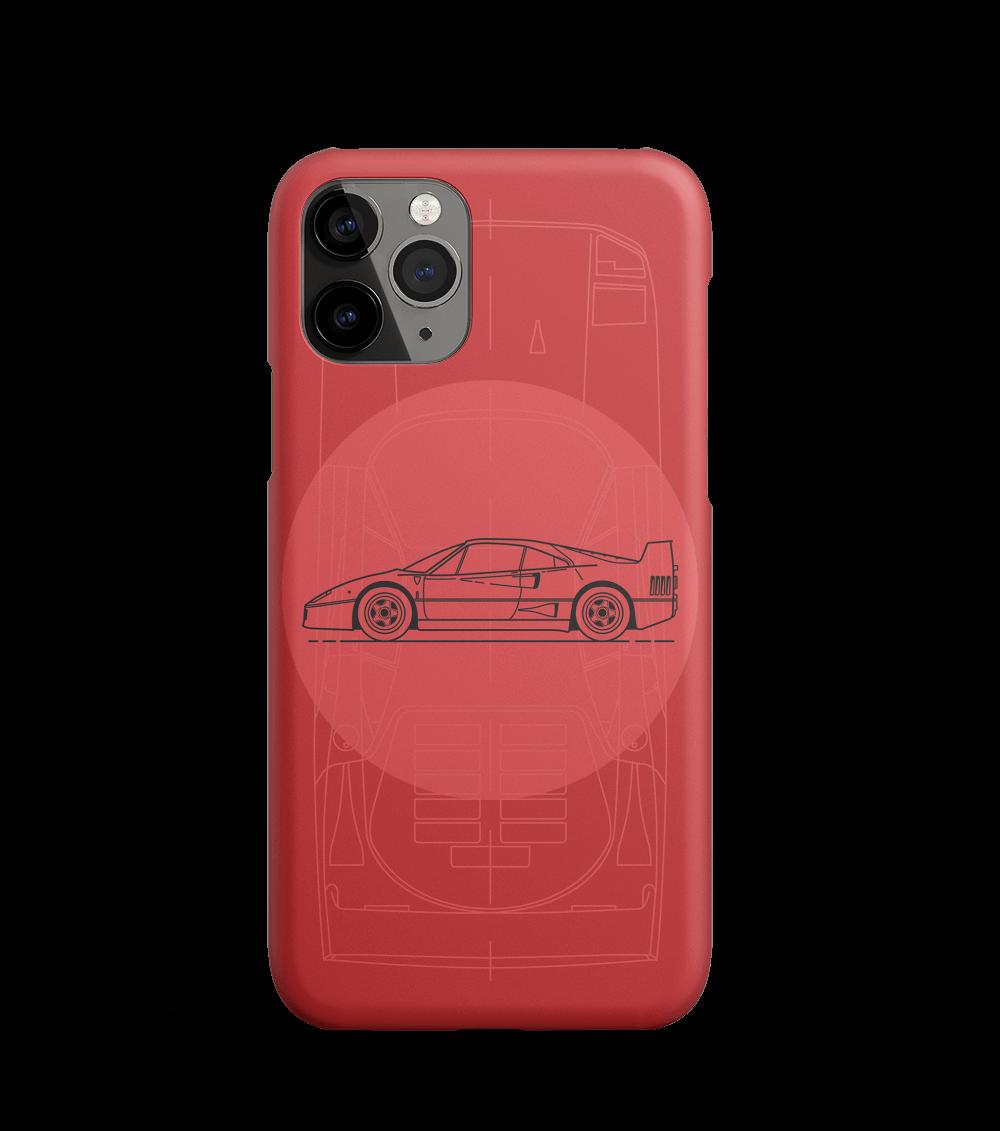 Etui z klasycznym Ferrari F40