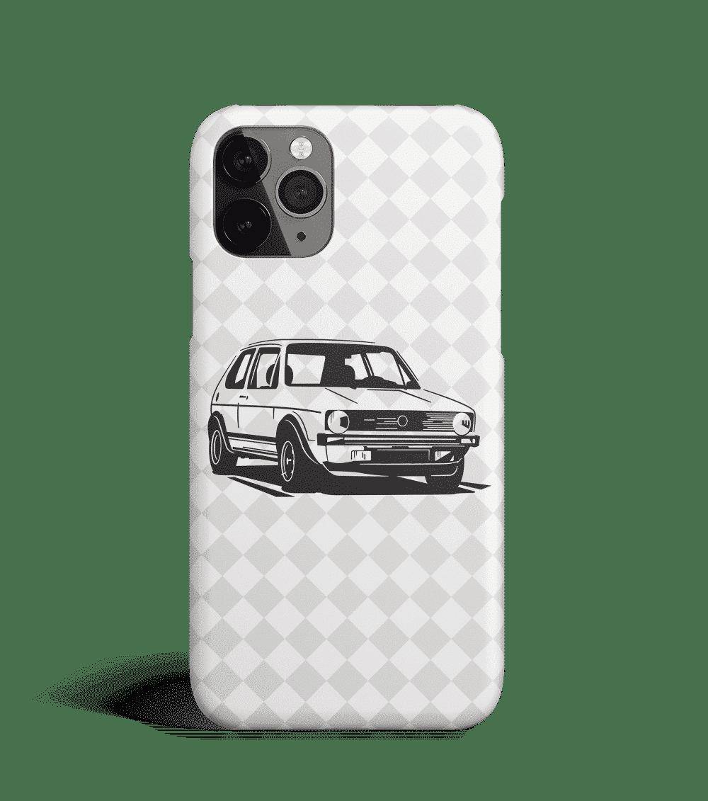 Etui na telefon z Volkswagenem Golfem