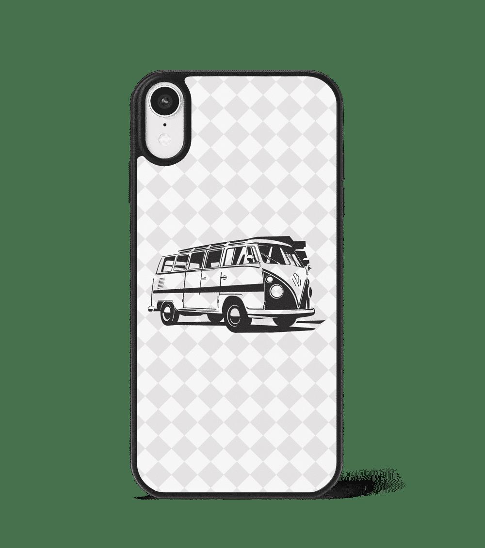Case GLASS na telefon z VW Transporterem