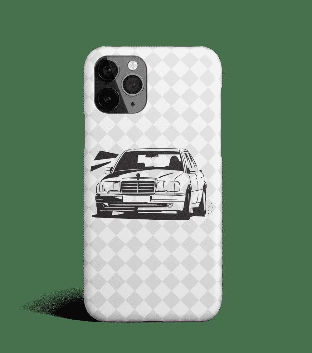 Etui na telefon z Mercedesem W124