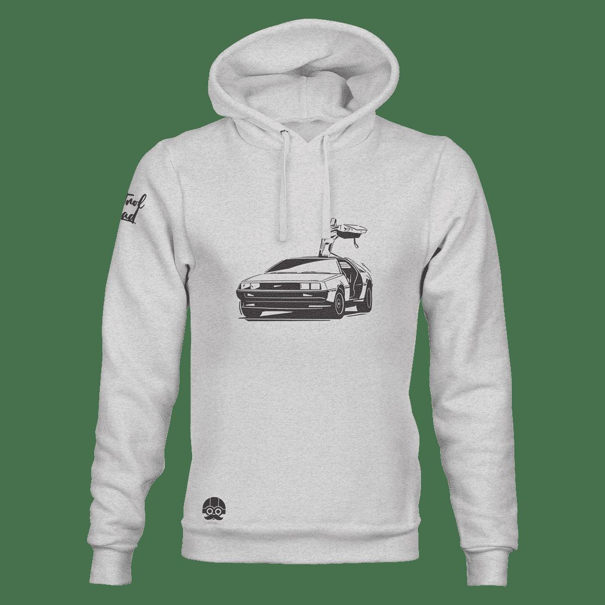 Bluza z samochodem DeLorean DMC-12