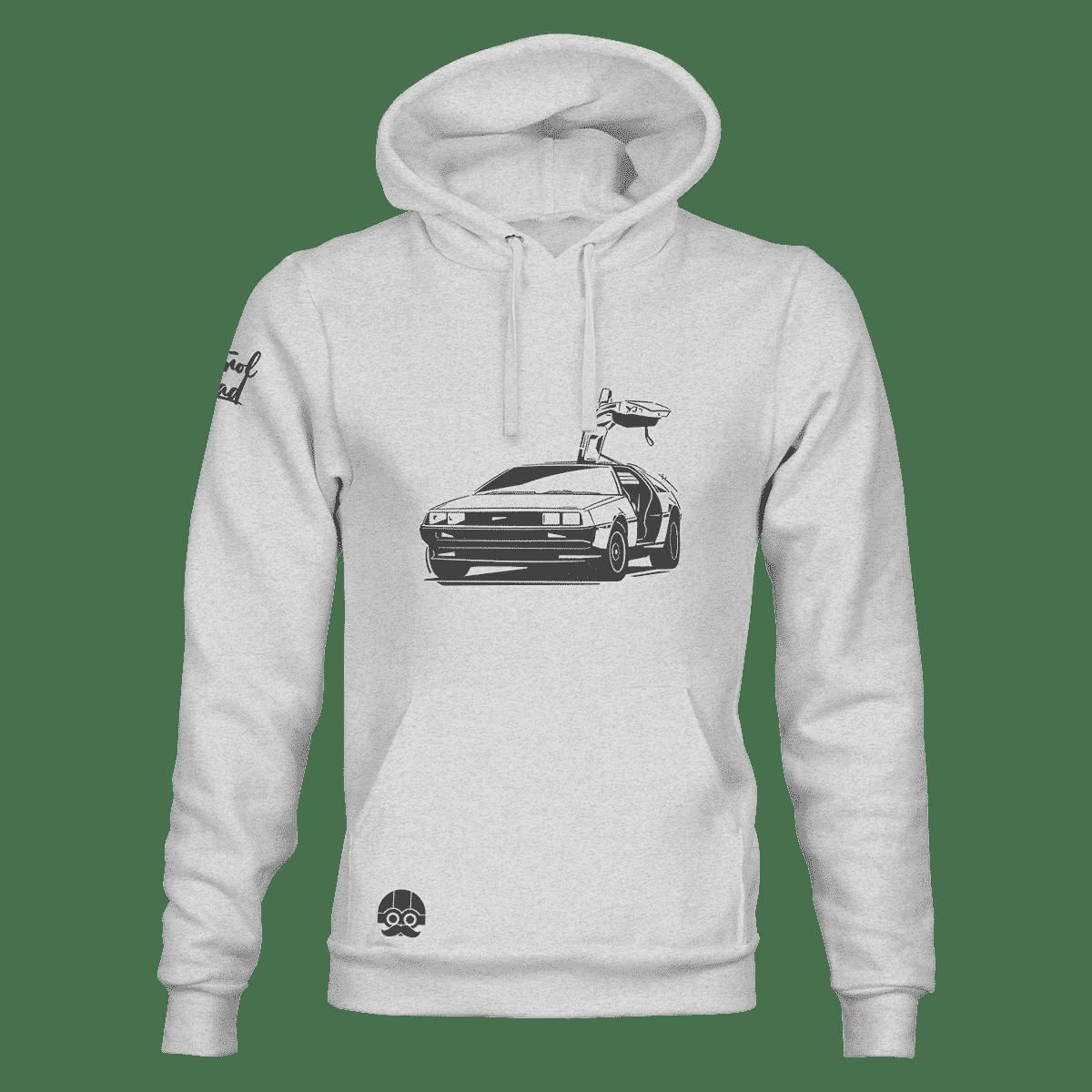 Bluza męska kangurka DeLorean DMC-12