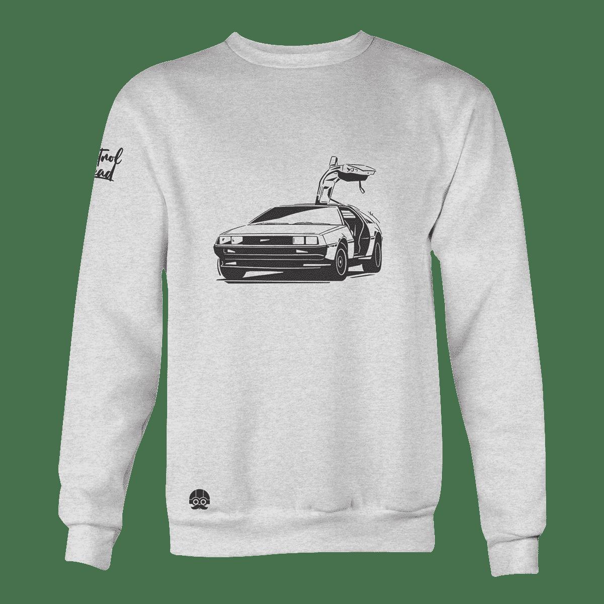 Bluza motoryzacyjna z autem marki DeLorean