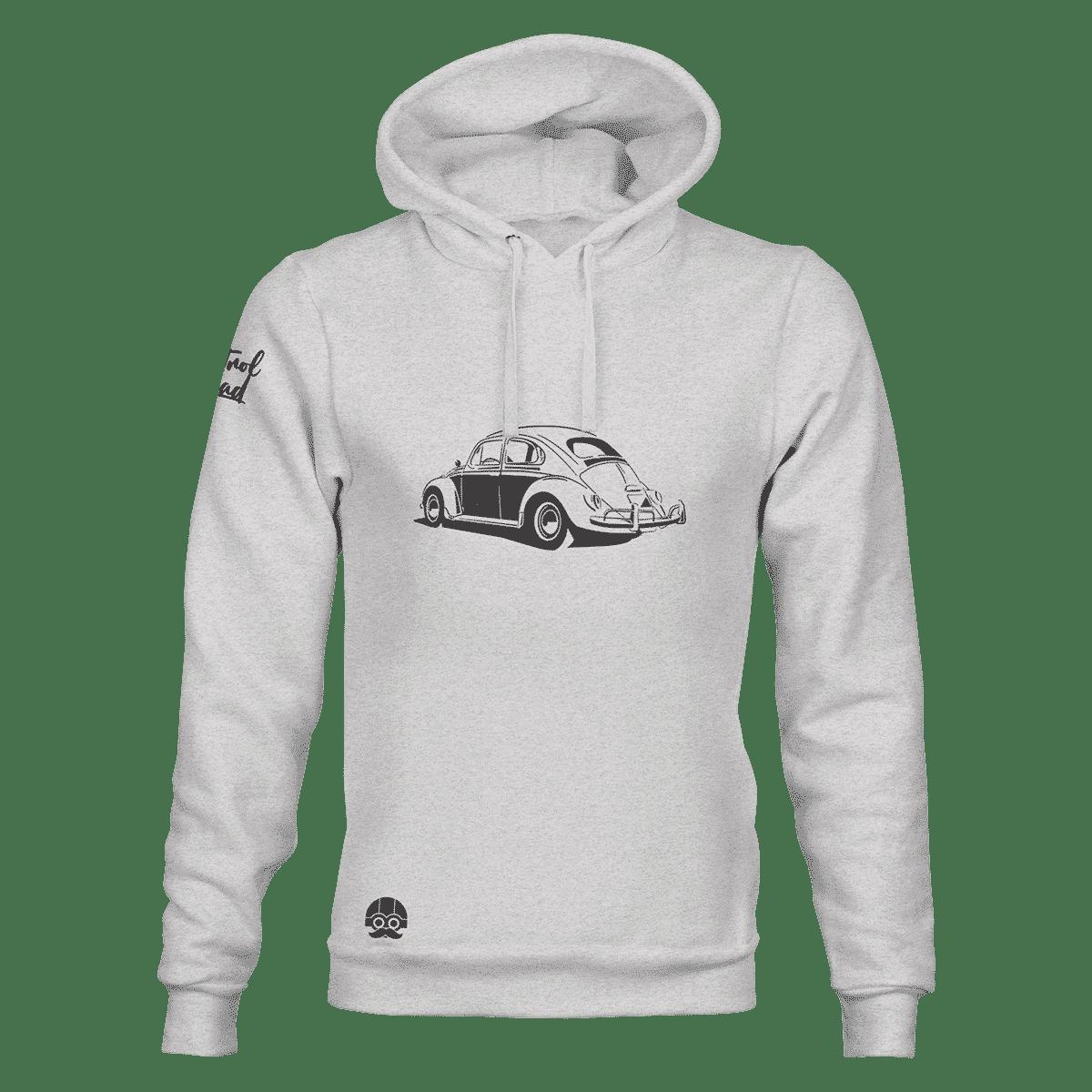 Bluza z kapturem z samochodem VW Garbus