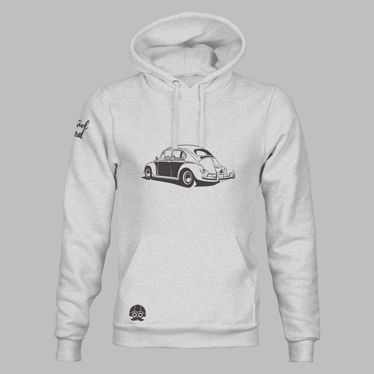 Bluza męska kangurka dla fanów Volkswagena Garbusa